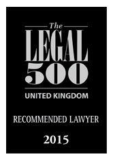 Legal 500 2015 - Recommended Lawyer