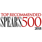 Spear's 500 2018 Top Recommended