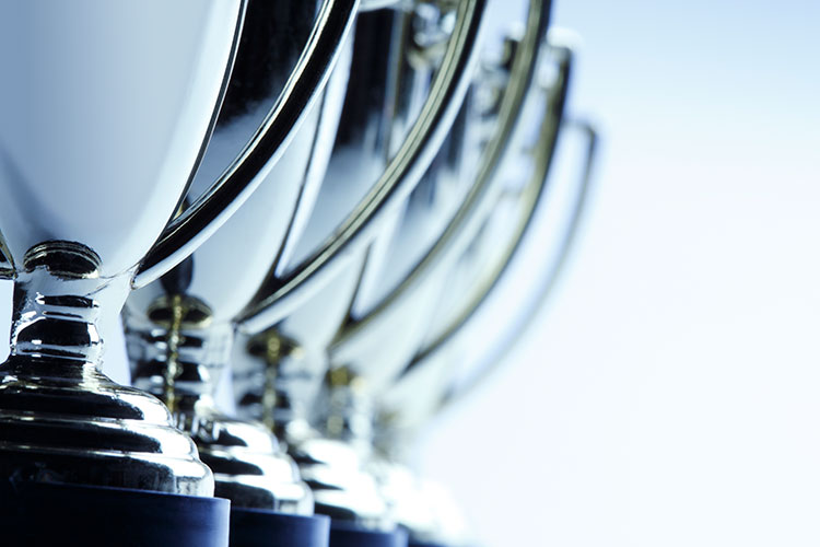 Row-of-Trophies