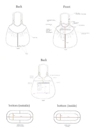 H&M early design diagrams