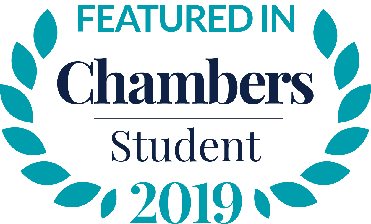 Charles Russell Speechlys featured in Chambers Student Guide 2019