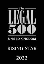 Legal 500 - rising star 2022