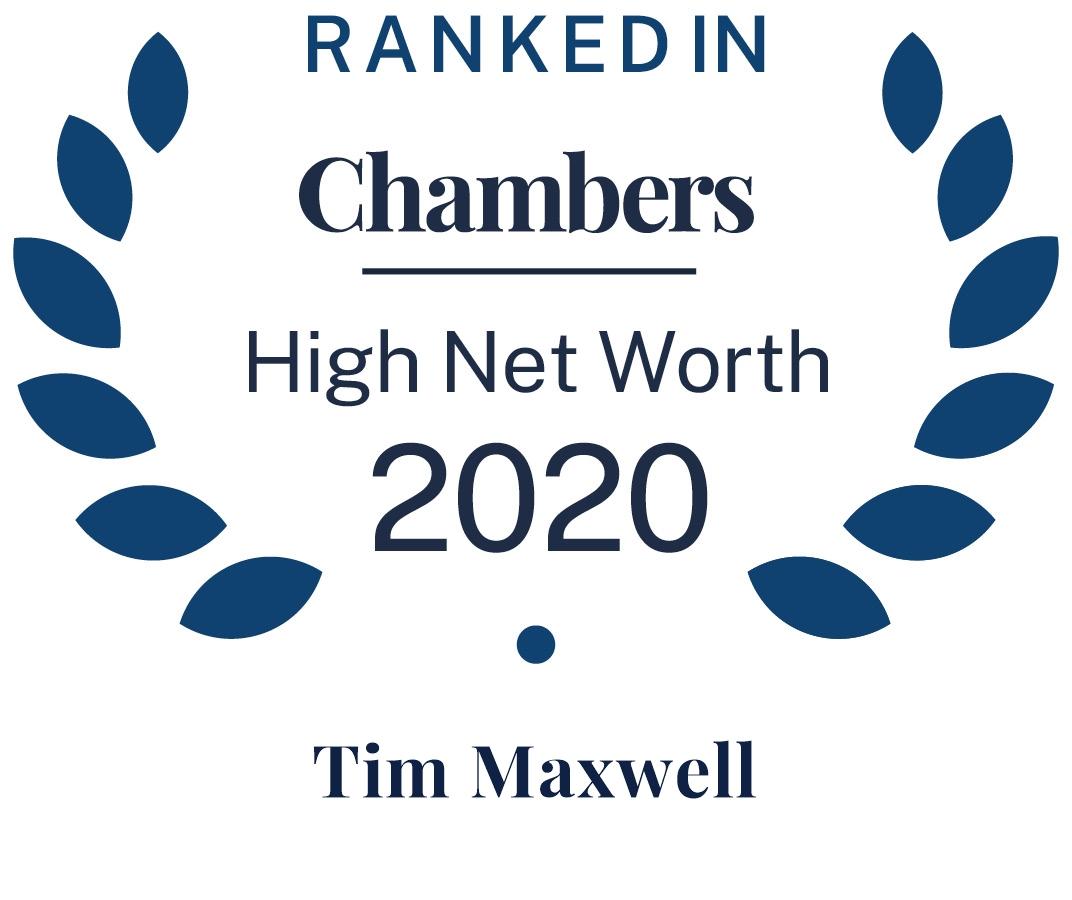 Chambers HNW 2021 - Tim Maxwell