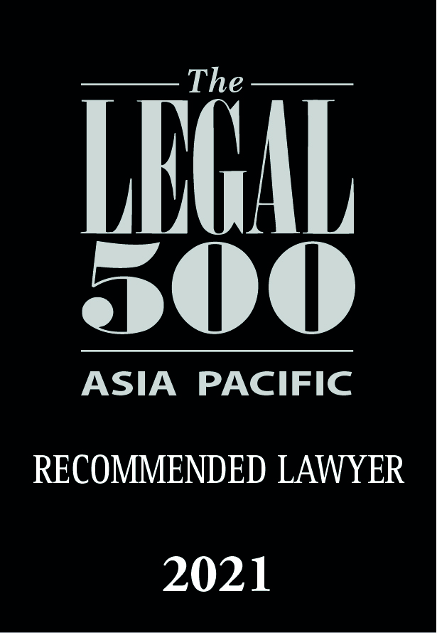 Legal 500 - Asia Pacific - 2020