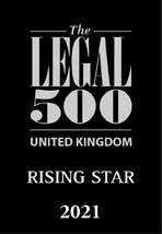 Legal 500 - Rising Star