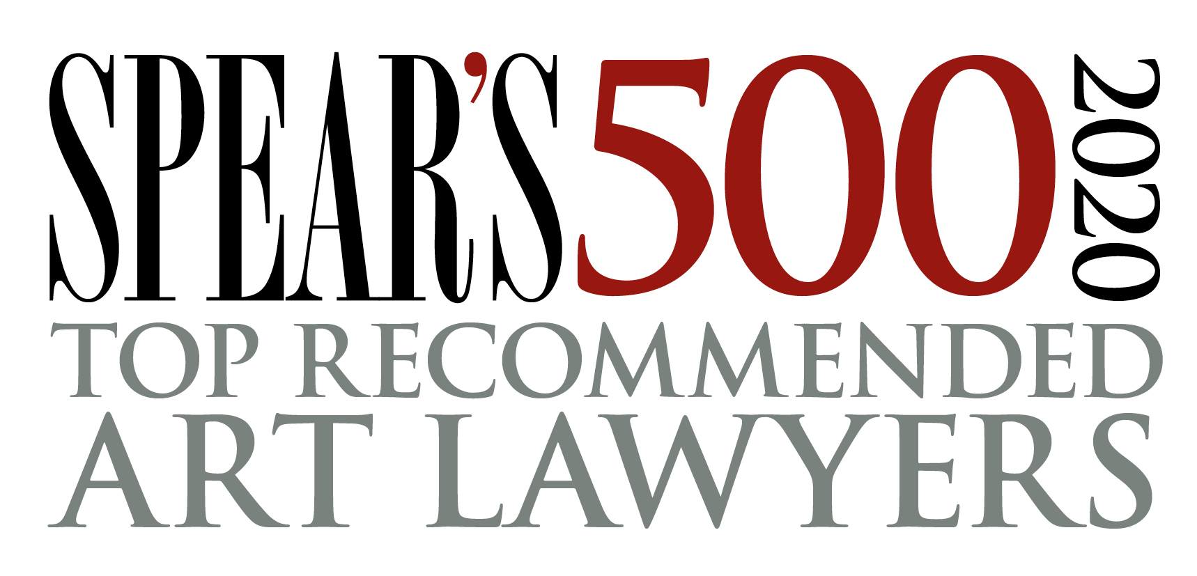 Spear's 500 2020 Top recommended art lawyers