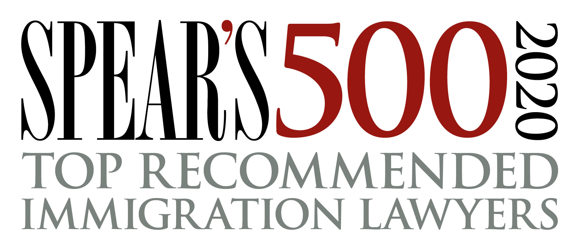 Spear's 500 2020 Top recommended immigration lawyers