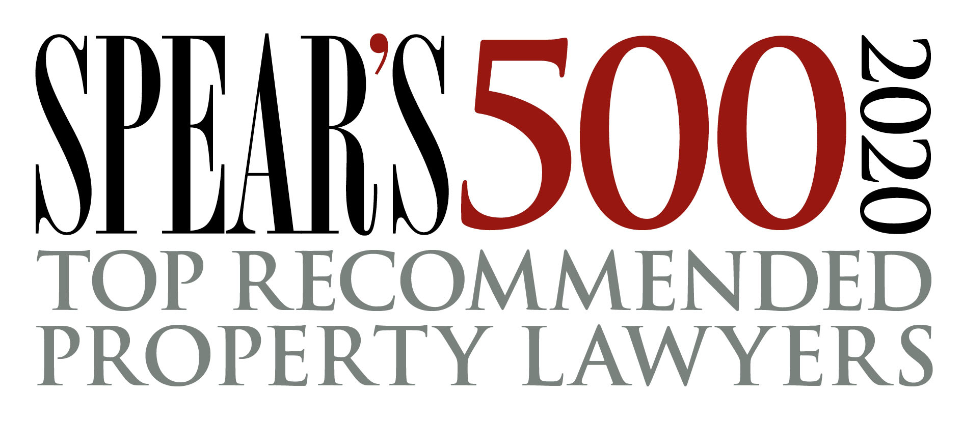 Spear's 500 2020 Top recommended property lawyers