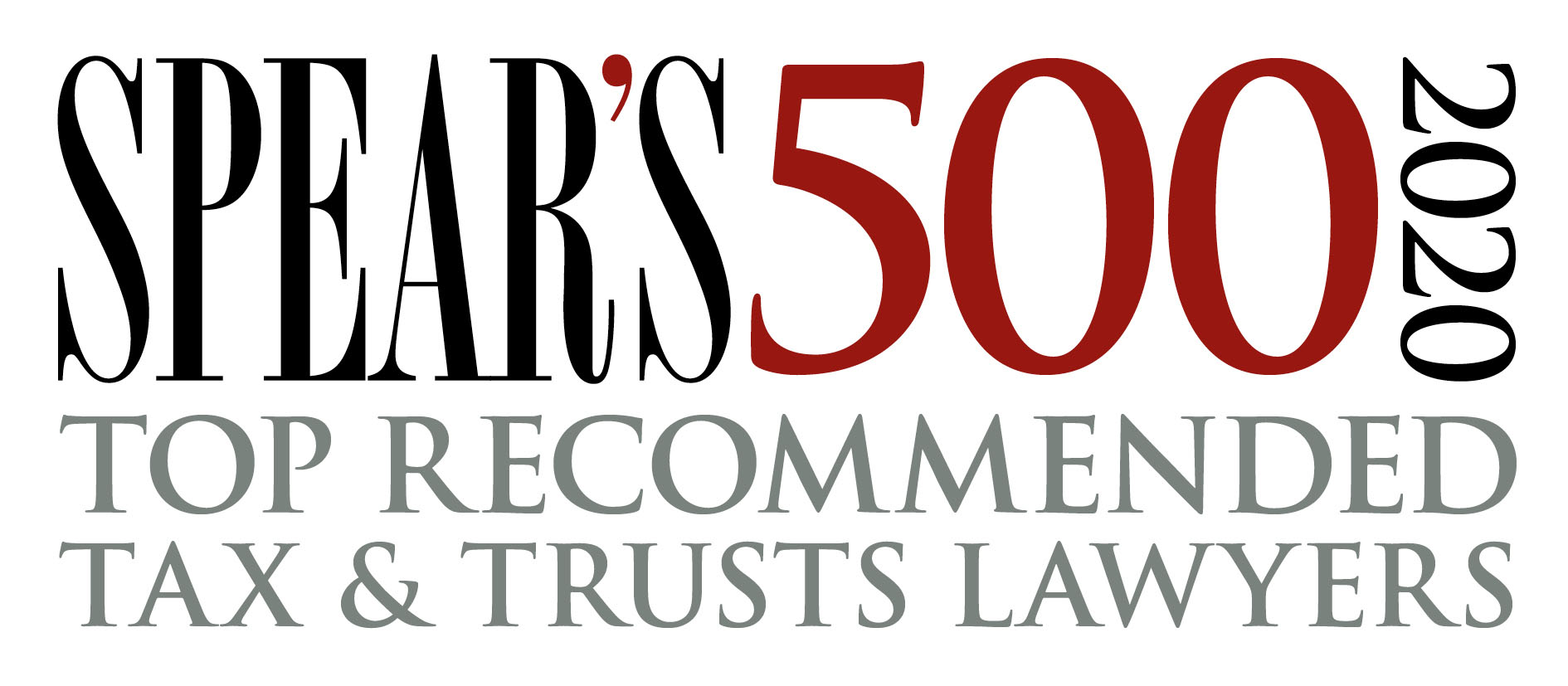 Spear's 500 2020 Top recommended tax and trust lawyers
