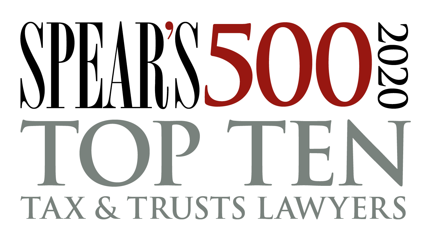 Spear's 500 2020 Top ten tax and trust lawyers