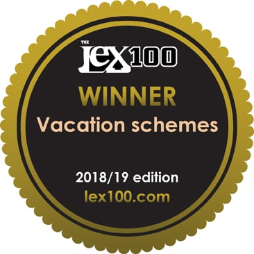The Lex100 2018/19 - Winner: Vacation schemes