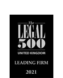 Legal 500 Individual Firm 2021