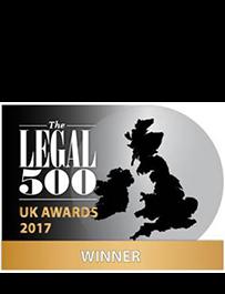 Legal 500 Winner 2017