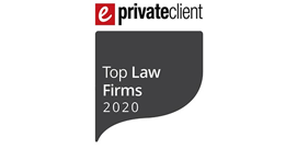 eprivate client top law firms 2020