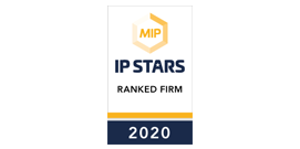 MIP IP Stars Ranked Firm 2020
